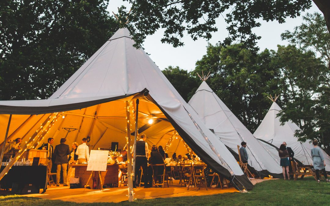 Tipi Wedding: Why you should choose Tipi Spaces for your tipi wedding