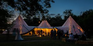 Tipis for hire